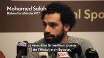 """Ballon d'or africain / Mohamed Sala :""""Je veux être le meilleur joueur de l'Histoire en Égypte"""""""