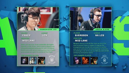 League of Legends - Faker vs. Bjergsen - 1 vs. 1 Tournament 2017 All-Star Event - by Deonade