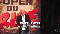 Marc Jolivet aux Open du rire - Le digicode de François Hollande