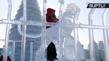 Ice One! Epic Ice Sculpture Competition Thaws to a Close