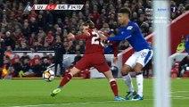 James Milner Goal - Liverpool 1-0 Everton 05-01-2018