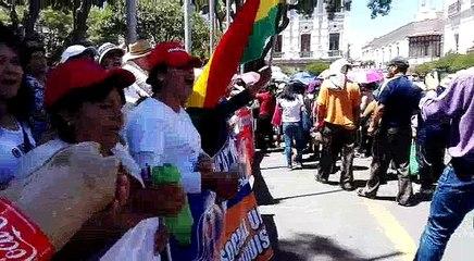 Sectores unidos en Sucre piden abrogación del nuevo Código del Sistema Penal