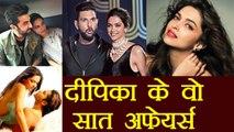 Deepika Padukone's Love Affairs: Men Deepika Dated before Ranveer Singh | FilmiBeat