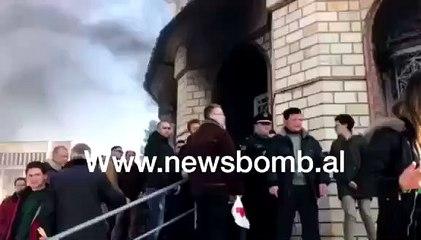 Zjarri ne Korçë