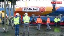 Lorient. Débarquement de 50 voiliers dont sept Imoca