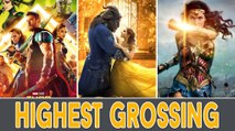 Top 10 Highest Grossing Hollywood Movies 2017 | Box Office Highest Rank Movies