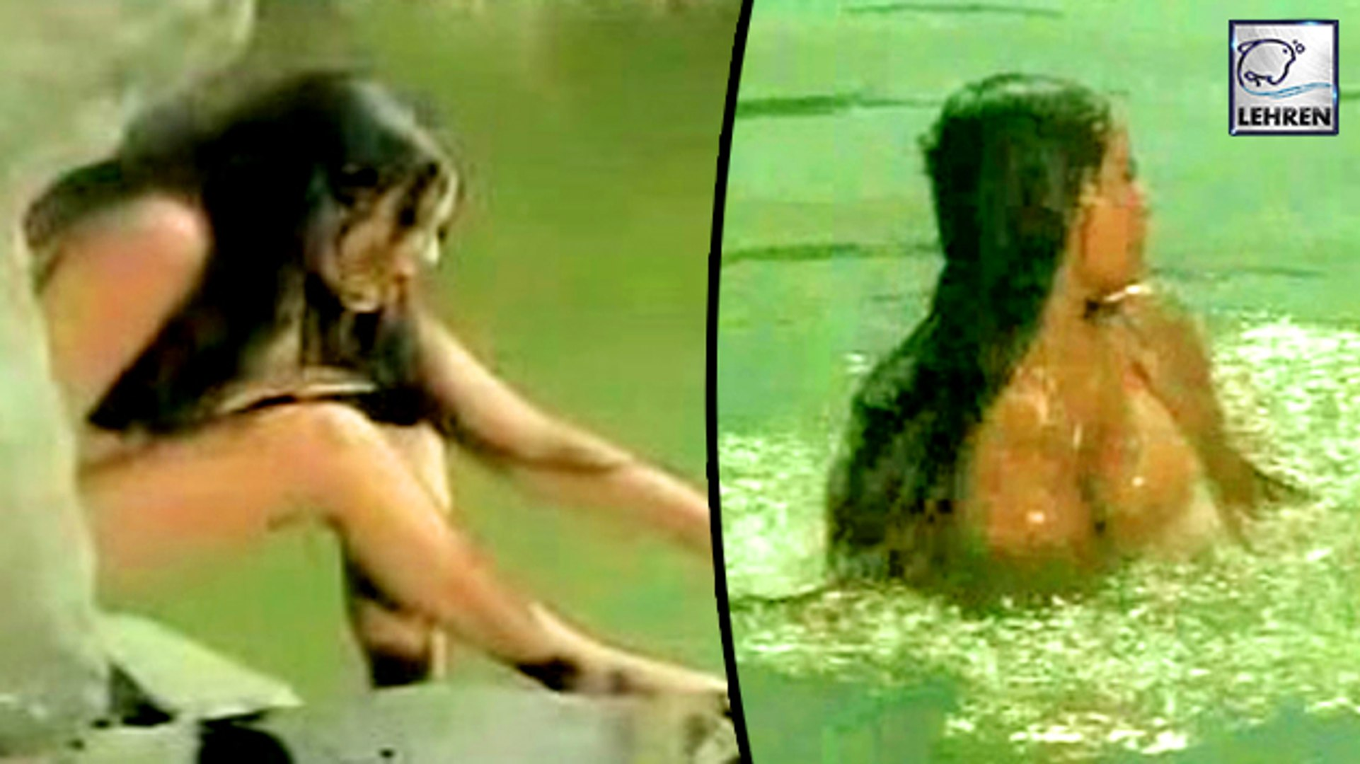 Rekha Goes Seminude In Sunil Dutt S Movie