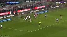 Leonardo Bonucci Goal - AC Milan 1-0 Crotone 06.01.2018
