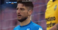 Dries Mertens Goal Disallowed Napoli 0-0 Verona  06.01.2018