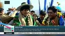 Bolivia: inauguran sistema de micro riego en el Altiplano