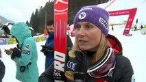 Interview - 2e place de Tessa Worley sur le Slalom Géant de Kranjska Gora - Vidéo FFS/Eurosport