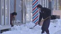Brutal Cold Snap Stuns U.S. East Coast