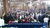 i24NEWS DESK  | Egypt copts mark Christmas eve after bloody year | Saturday, January 6th 2018