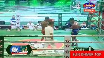 Kham Klaneang vs Kievba(thai), Khmer Boxing Seatv 06 Jan 2018, Kun Khmer vs Muay Thai