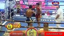 Meas Socheat vs Phet Namek(thai), Khmer Boxing Seatv 24 Dec 2017, Kun Khmer vs Muay Thai