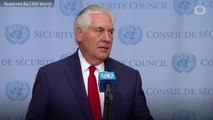 Tillerson Responds To Trump Claims