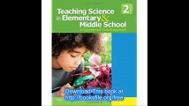 Teaching Science in Elementary and Middle School A Cognitive and Cultural Approach