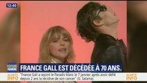 """Mort de France Gall: """"Elle chantait avec une petite voix très juste"""", se souvient Hugues Aufray"""