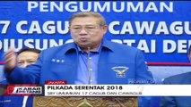 Ketum Partai Demokrat Umumkan 17 Pasangan Bakal Cagub dan Cawagub di Pilkada Serentak 2018