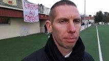 Réaction de Sébastien Joseph après la qualification de Soyaux en 32e de finale de la Coupe de France féminine
