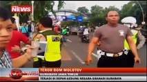 Rumah Dinas Gubernur Jatim Nyaris Dilempari Bom Molotov Orang Tak Dikenal