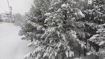 Andorre: Forte Tempete de Neige - Andorra Snow TV