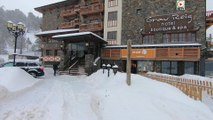 Andorre: Grau-Roig Chute de Neige - Andorra Snow TV