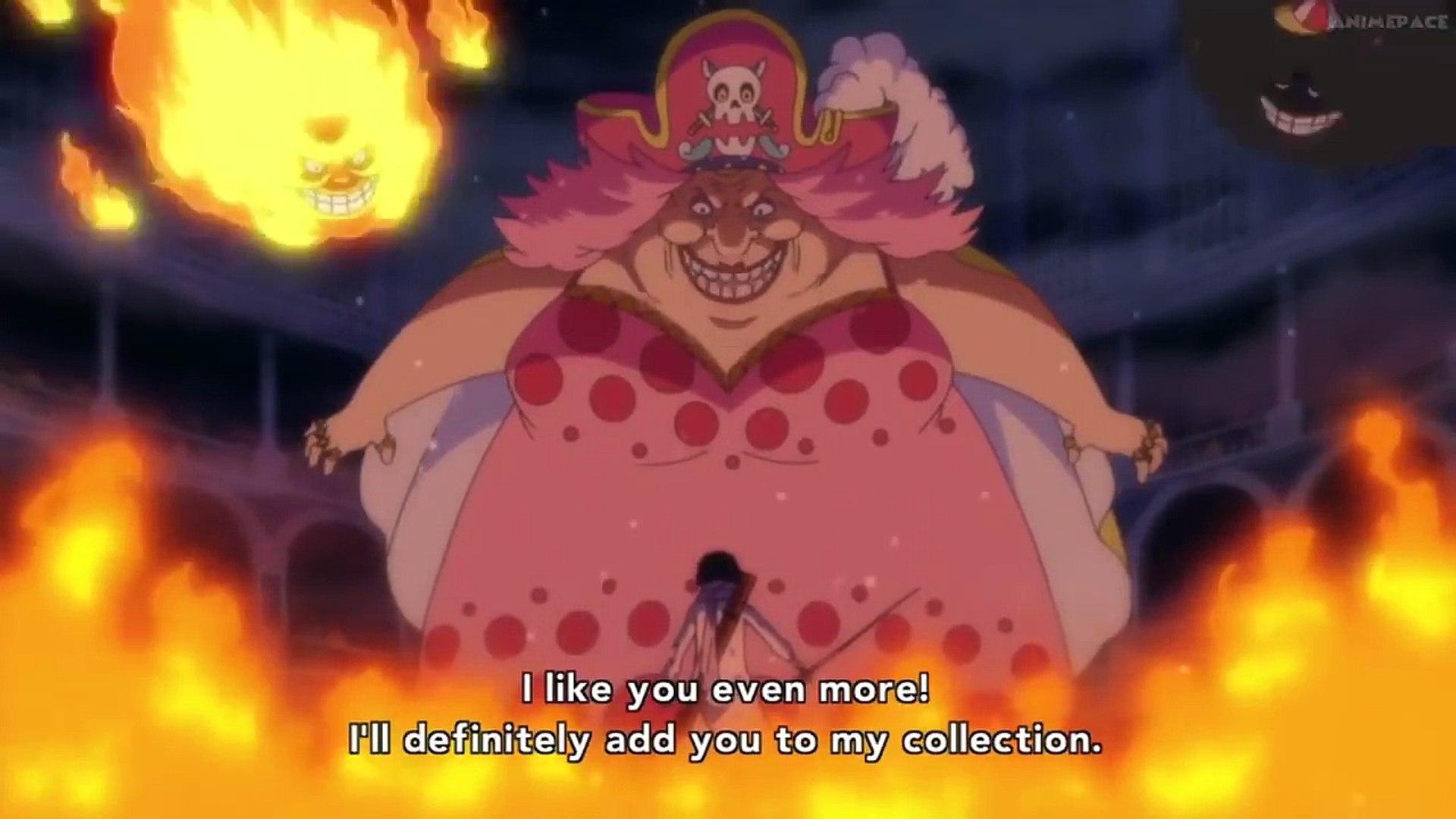Brook vs Big Mom [Brook Defeated] - One Piece 820