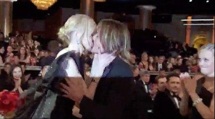 Nicole Kidman wins Golden Globes 2018