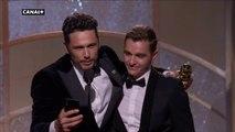 Golden Globes 2018 - James Franco, Meilleur acteur dans une comédie pour The Disaster Artist - CANAL+