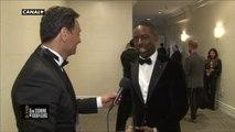 """Golden Globes 2018 - Sterling K. Brown réagit après avoir reçu le Golden Globe du Meilleur acteur dans une série dramatique (This is us) : """"Je ne m'y attendais pas !"""""""