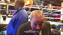 "BOB ARUM DECLARES ""LOMACHENKO RIPS UP MIKEY GARCIA AND LINARES!"""