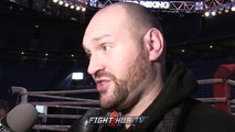 """TYSON FURY REVEALS HOW TO BEAT VASYL LOMACHENKO! """"THE ONLY PERSON WHO CAN BEAT ME..IS ME!"""""""