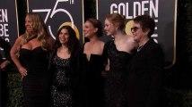 Golden Globes : les stars en noir trois mois après l'affaire Weinstein