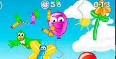 Bebek bakımı oyunu eğlenceli çocuk filmi öğretici okul öncesi video balon patlatma