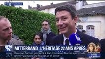 Benjamin Griveaux a rendu hommage à François Mitterrand