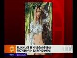 Flavia Laos es acusada de usar photoshop en sus Fotografias