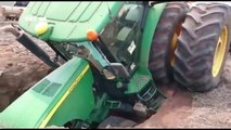 02.Unseen Tractor Fails And Stunt & Extreme tractor stunt failure