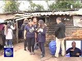 Rocío de Moreno entregó viviendas a familias de escasos recursos
