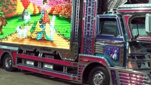 Tuning of trucks in Japan. Crazy JAPANESE cars & tuning styles