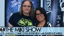 LOS ANGELES COMIC CON: David Lucarelli Interview