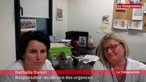 Hôpital du scorff à Lorient. Les urgences saturées depuis fin décembre