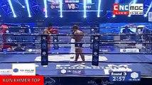 roeung Saroth vs Jacknoun(thai), Khmer Boxing CNC 07 Jan 2017, Kun Khmer vs Muay Thai