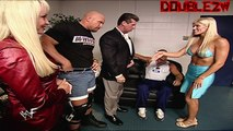 Vince's Private Meeting attempts with Torrie Wilson - 7-2-2001 Raw