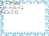 BLUMAX batteria LPE6 LP E6 LPE6 per fotocamera CANON EOS 6D 7D 70D 5D MK II III