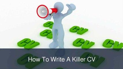 William Almonte - How To Write Curriculum Vitae