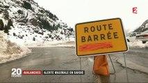 """Savoie : des chutes de neige comme il n'en arrive qu'""""une fois tous les 30 ans"""""""