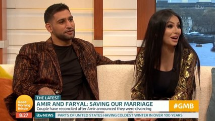 Amir Khan and Faryal Makhdoom talk marital woes and cheating rumours