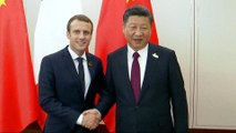 Macron in Beijing: French president begins China state visit