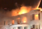 Firefighters Tackle 4-Alarm Apartment Fire Northeast of Boston